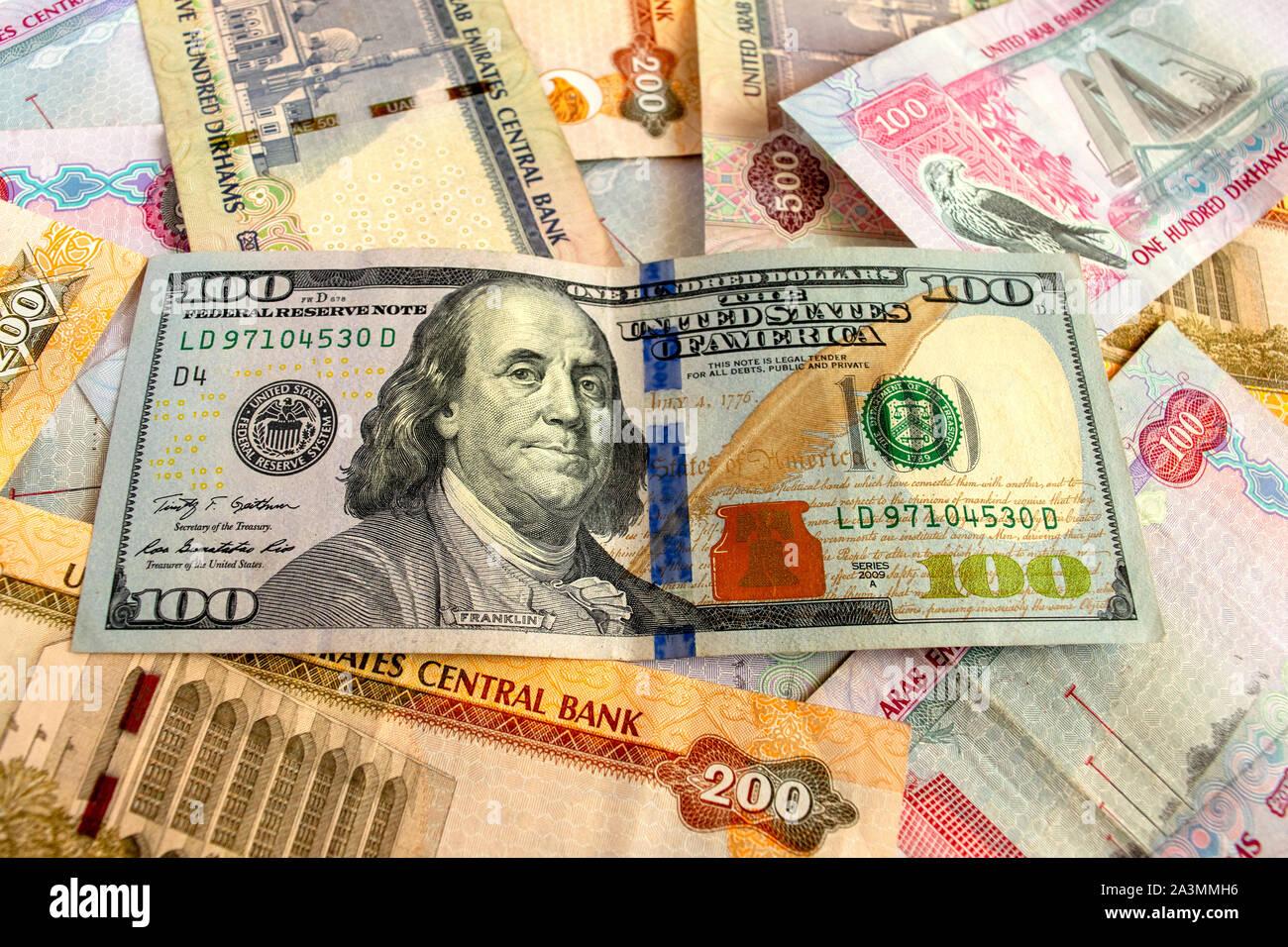 United Arab Emirates Uae Dirhams Stockfotos und -bilder Kaufen - Alamy
