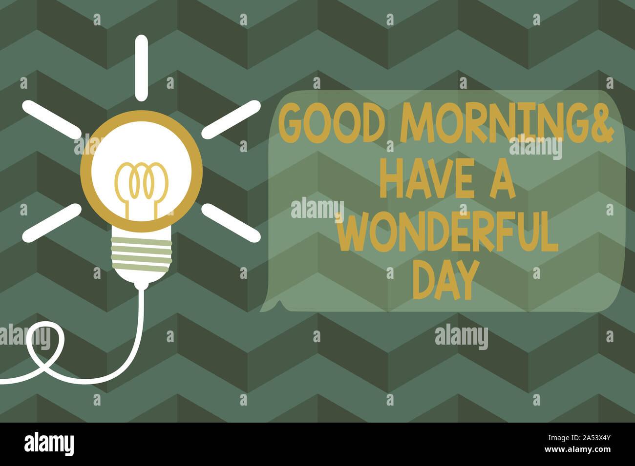 Guten morgen und einen schönen tag bilder