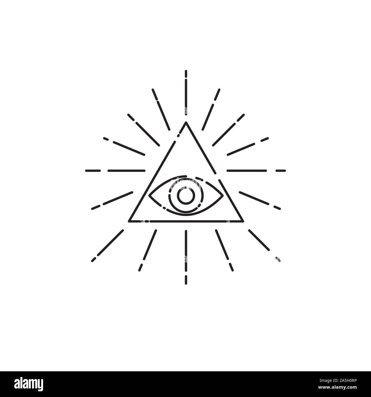 Dreieck auge tattoo bedeutung