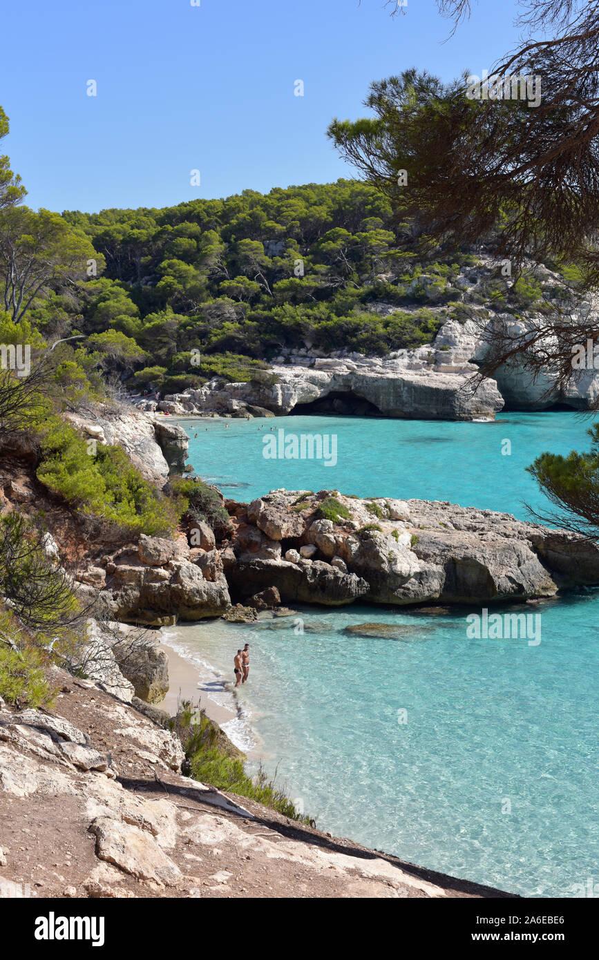 Menorca, Spanien Baleareninsel Menorca Stockfoto