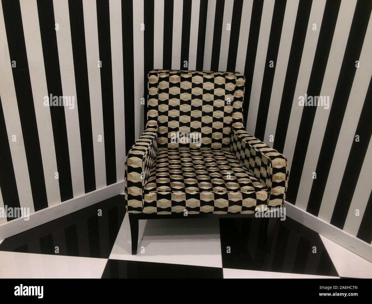 Upholstered Wallpaper Stockfotos Und Bilder Kaufen Alamy