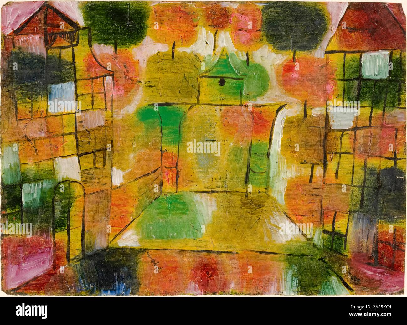 Paul Klee, abstrakte Malerei, Baum und Architektur-Rhythmen, (Baum und Architecture-Rhythms), 1920 Stockfoto