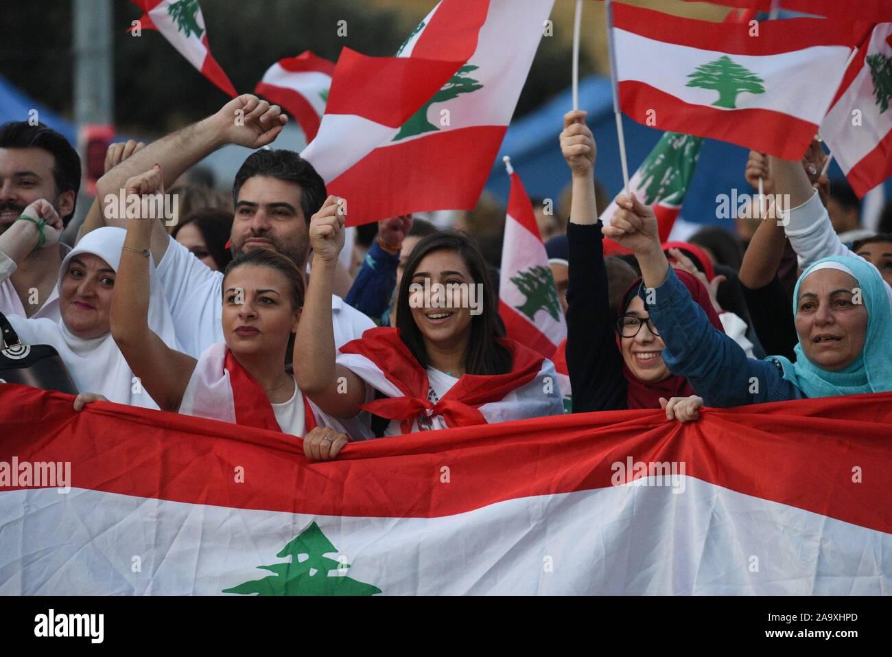 Frauen libanesische eine Die