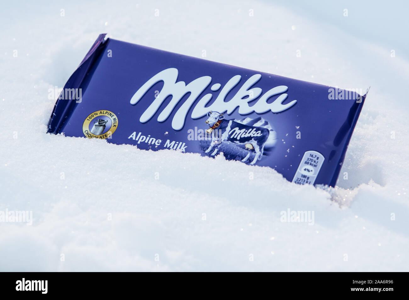 Milka Kuh Stockfotos & Milka Kuh Bilder Alamy