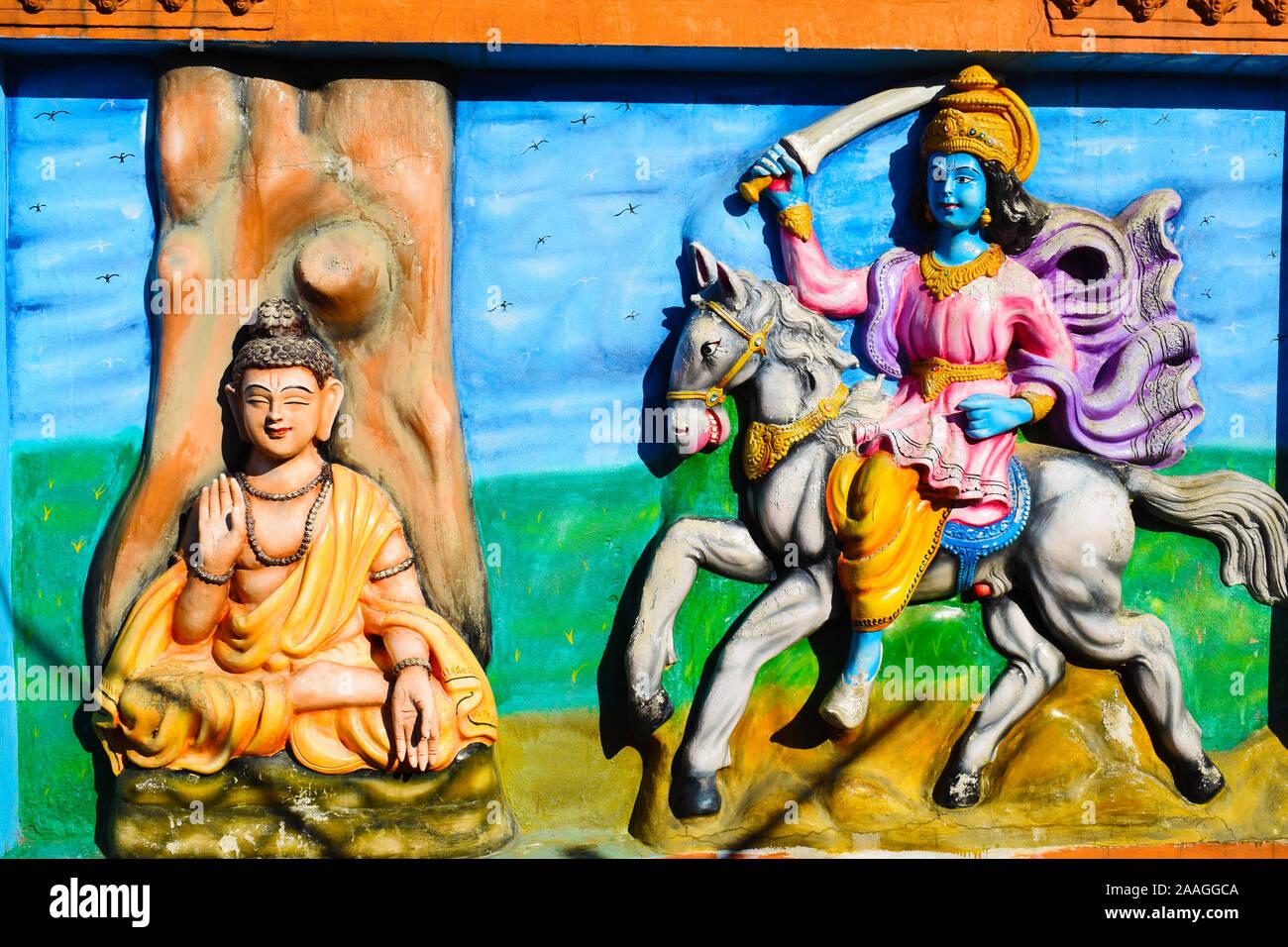Kalki Avatar Stockfotos und  bilder Kaufen   Alamy