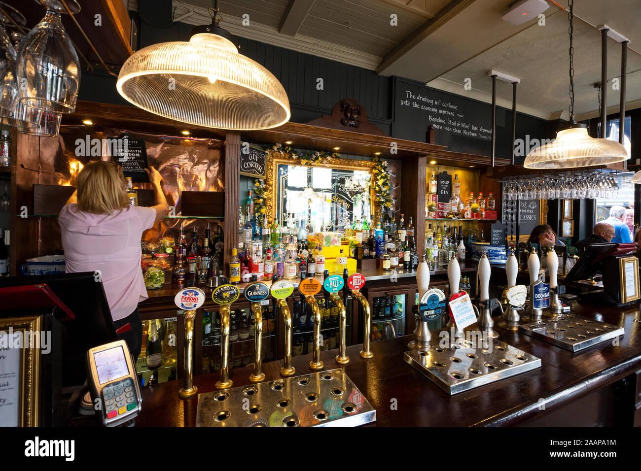 Das White Lion, James Street, Covent Garden, ein Nicholson Pub ...