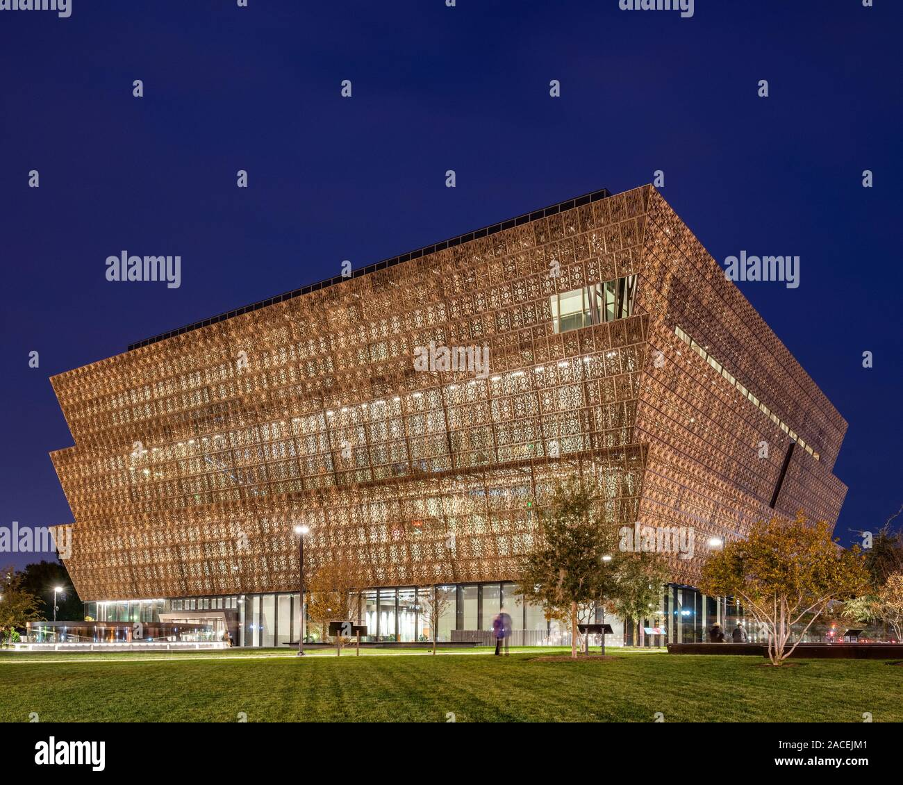 Nationalmuseum für Afrikanische Amerikanische Geschichte und Kultur, entworfen von David Adjaye Stockfoto