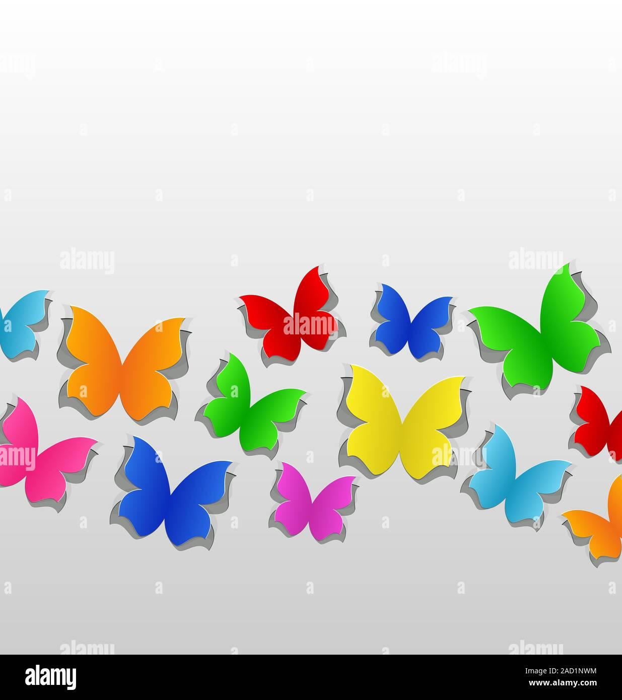 Schmetterling Ausschneiden Stockfotos Schmetterling Ausschneiden