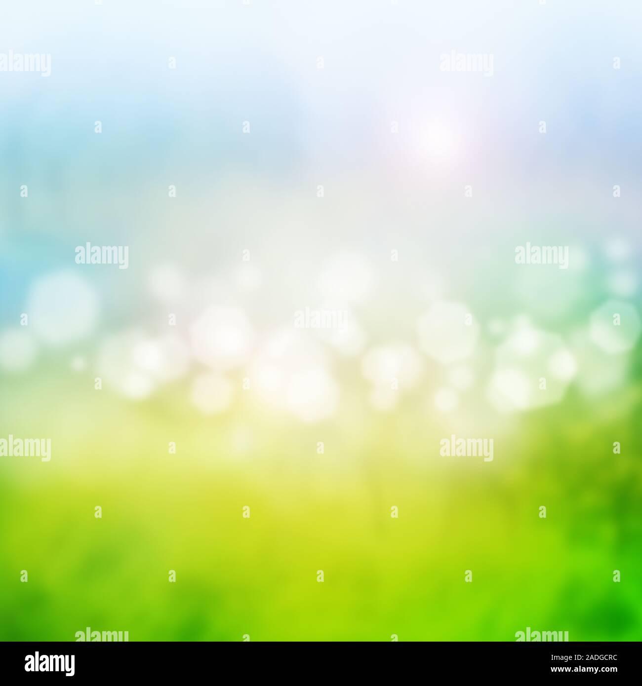 Glitzender Hintergrund auf Lichtflexen Stockfoto