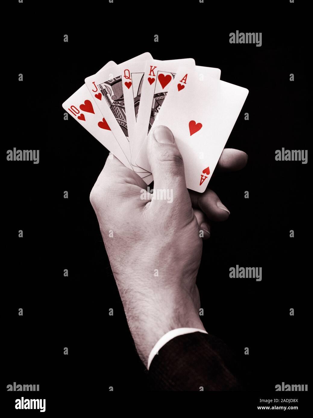Hand beim poker höchste Höchste Farbe?