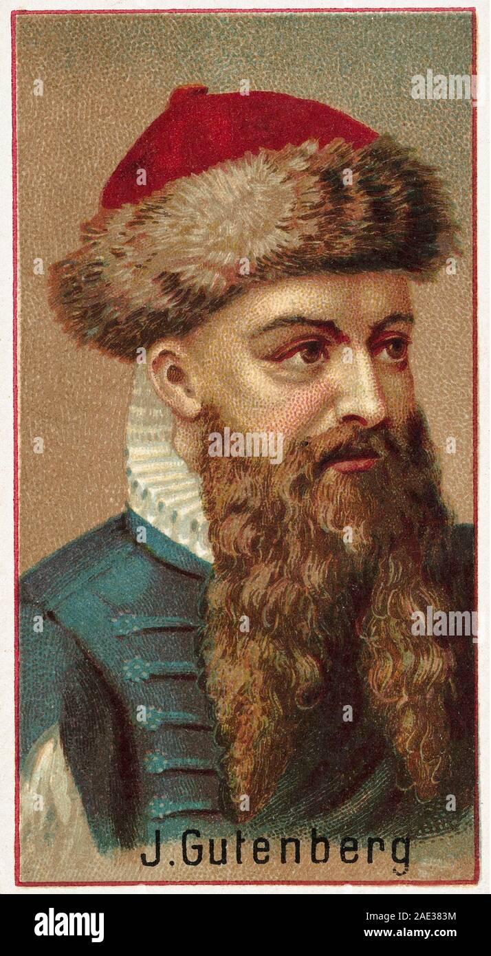 Johannes Gensfleisch zur Laden zum Gutenberg 25   25 einem ...