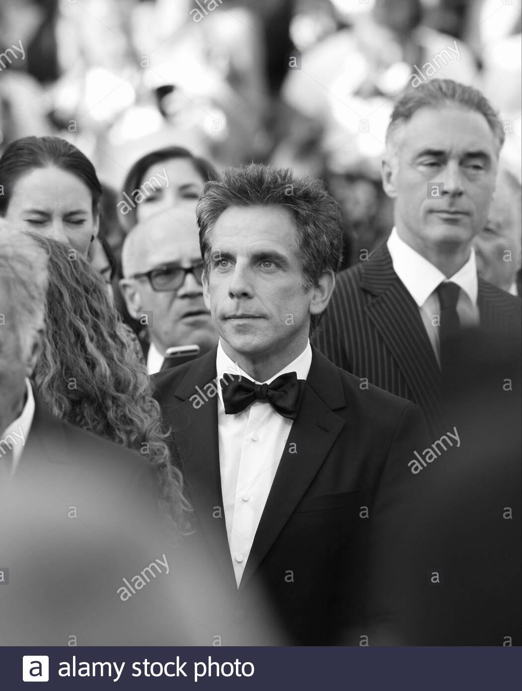 Ben Stiller besucht The Meyerowitz Stories screening während der 70. jährlichen Cannes Film Festival im Palais des Festivals im 21. Mai 2017 in Cannes, Frankreich. Stockfoto