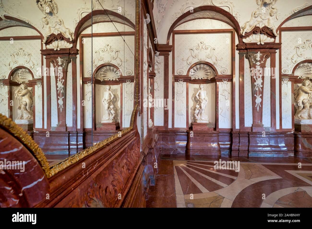Belvedere Museum. Wien Österreich Stockfoto