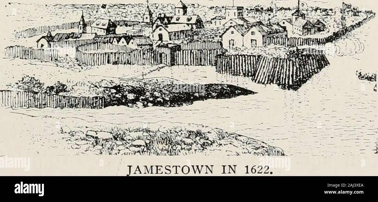 Geschichte der Pilger und Puritaner, ihre Vorfahren und Nachkommen; Grundlage der Amerikanisierung. VJ ERSTE PREDIGT IN JAMESTOWN DURCH DEN BAU VON ST. AUGUSTINE. Der hochwürdige Herr Hunt. ? M. 212 GESCHICHTE DER PILGER UND PURITANER ihre Landung in Plymouth, war die inSouth Jamestown Virginia. Die Einzelheiten der Teilnahme an diesem Städte steigen und die anschließende andfall cyclonic Happenings waren scharf Dis-disku sowohl in Leyden und in New Plymouth. Jamestown sollten mit weit greaterinfluence Ursache der Pilger ex gutgeschrieben werden? (Modus nach Amerika, und vergeben eine größere meed Lob als ist allgemein ein Stockfoto