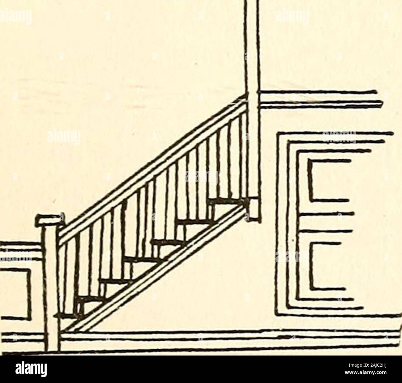 Stair Newel Peg Post Pine Solid Wood Colonial