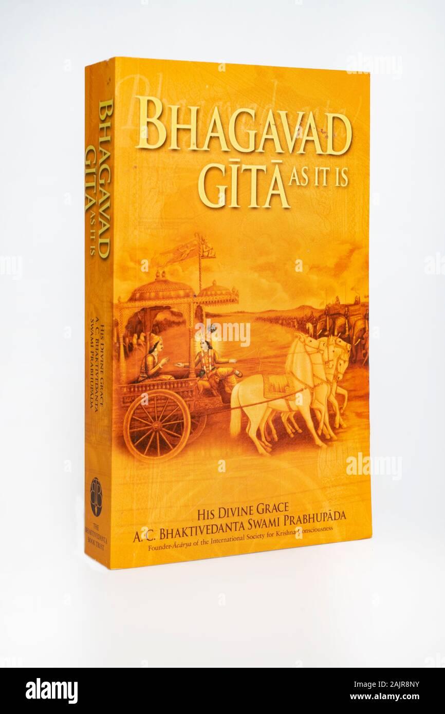 Bhagavad Gita Stockfotos Und Bilder Kaufen Alamy