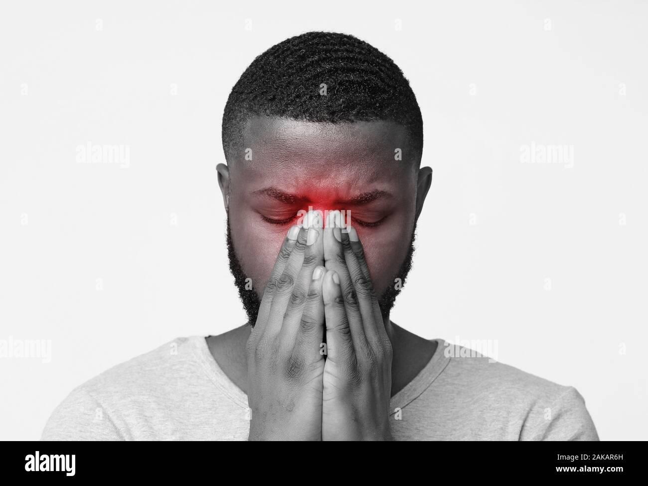 Bei berührung schmerzt nasenspitze Nasenflügel links
