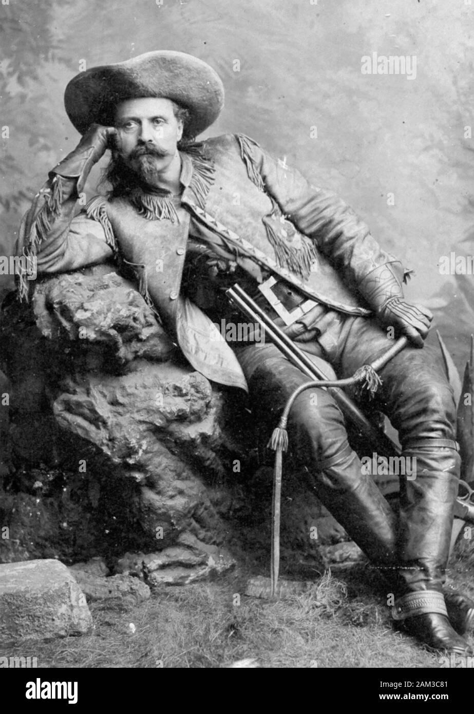 BUFFALO BILL - William Cody - (1846-1917) amerikanischer Soldat und showman  Stockfotografie - Alamy