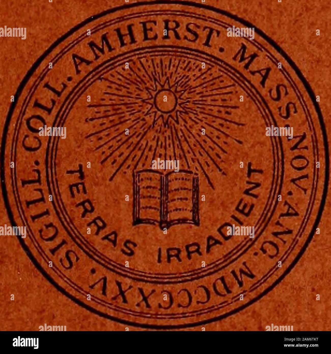 Adressen der Absolventen des Amherst College. lcox, H. 20 W. F. 20 ...