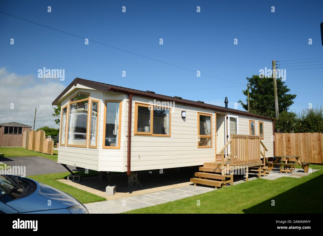 Mobile Homes Park Stockfotos und  bilder Kaufen   Alamy