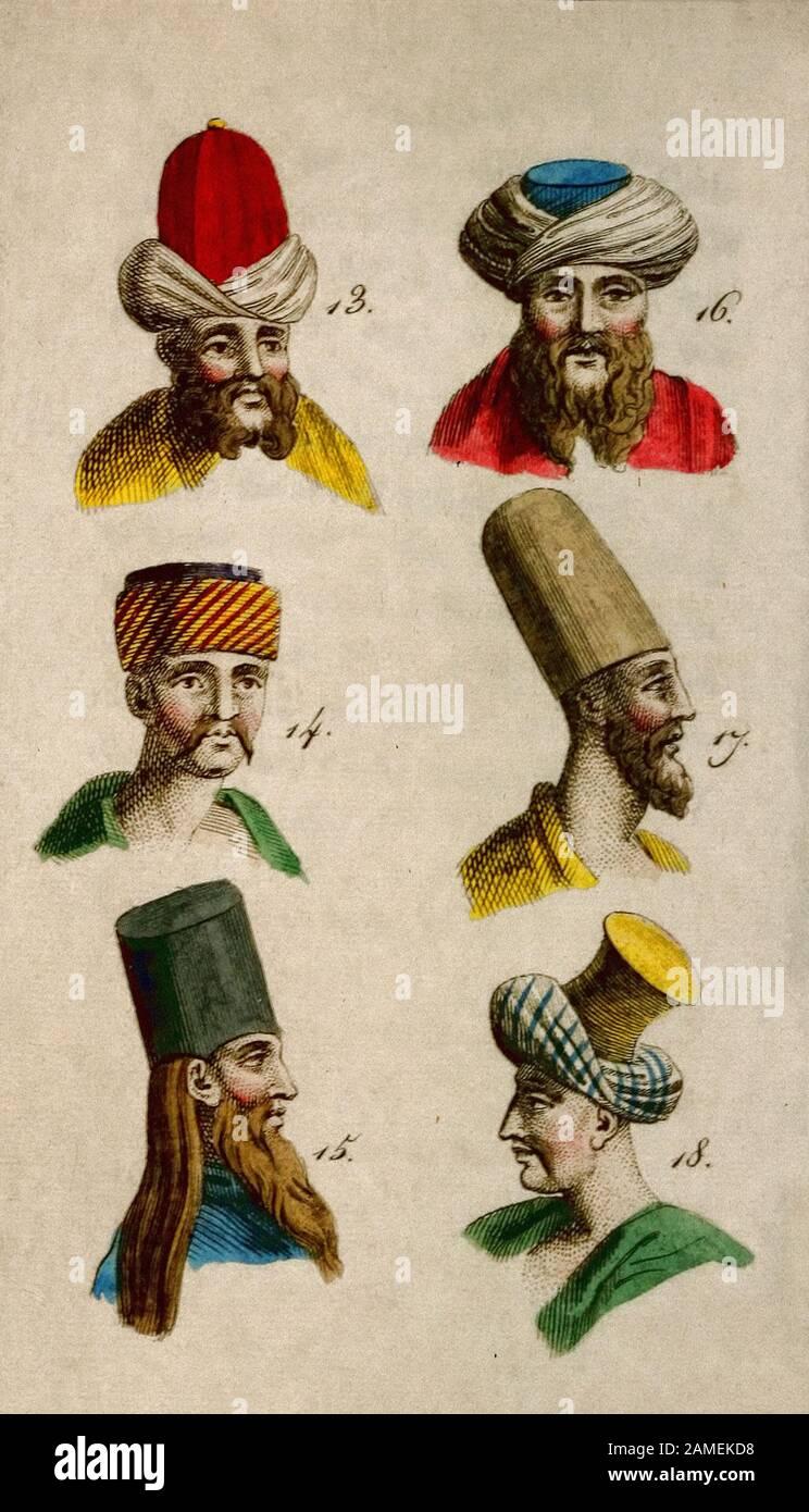 Kopfbedeckung Der Kleriker