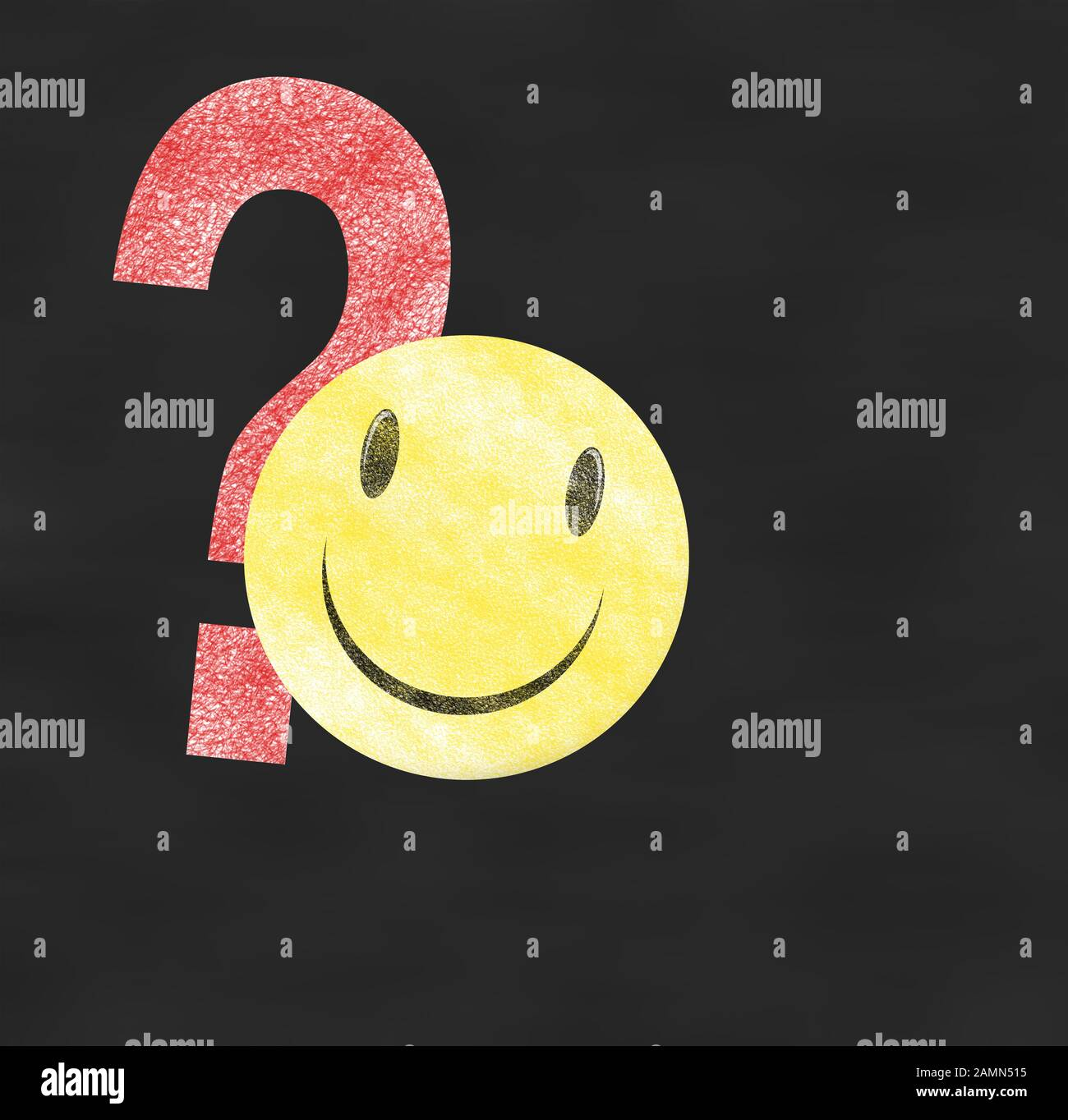 Smileys mit fragezeichen