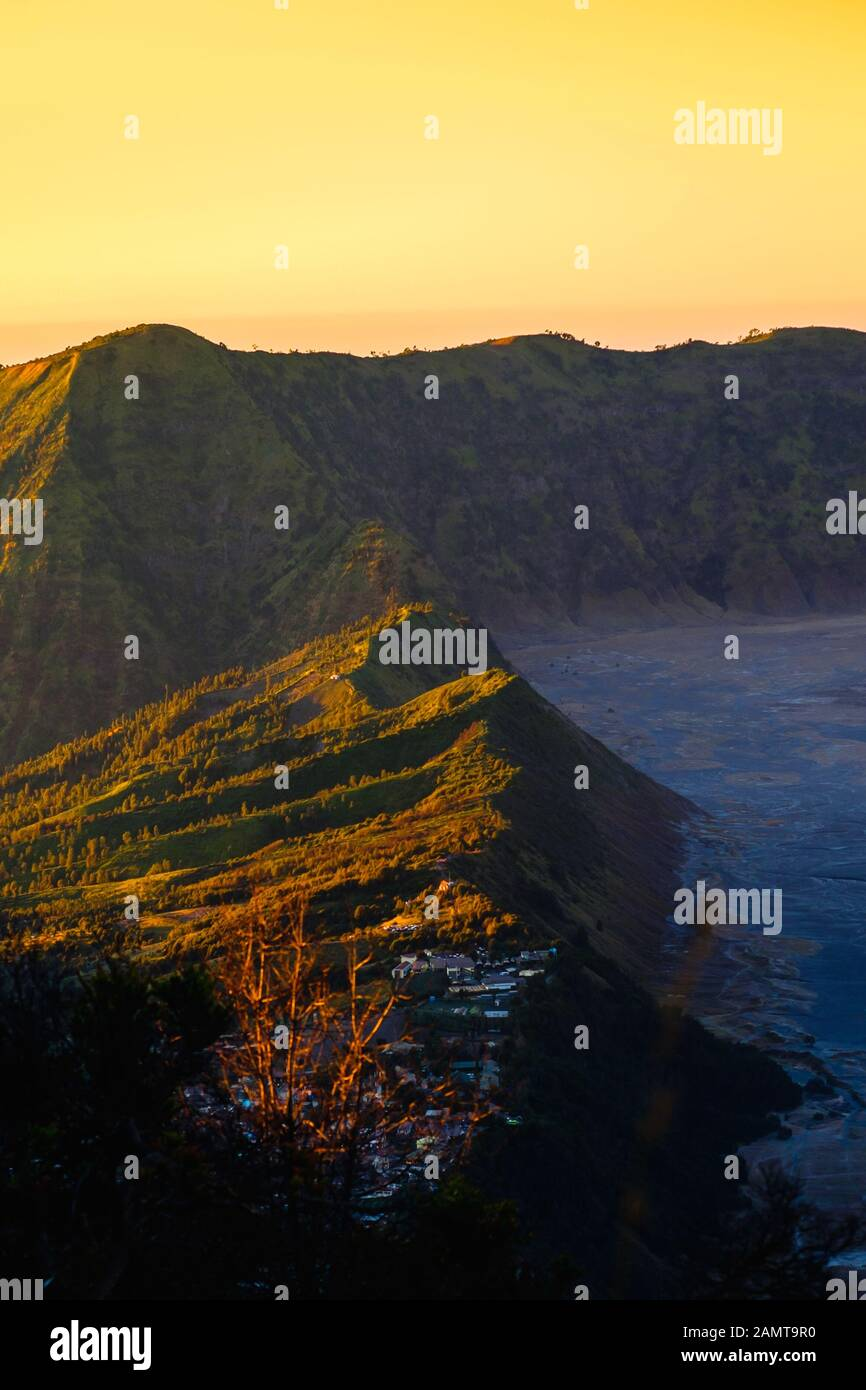 Mount Bromo, Bromo-Tengger-Semeru-Nationalpark, East Java, Indonesien Stockfoto
