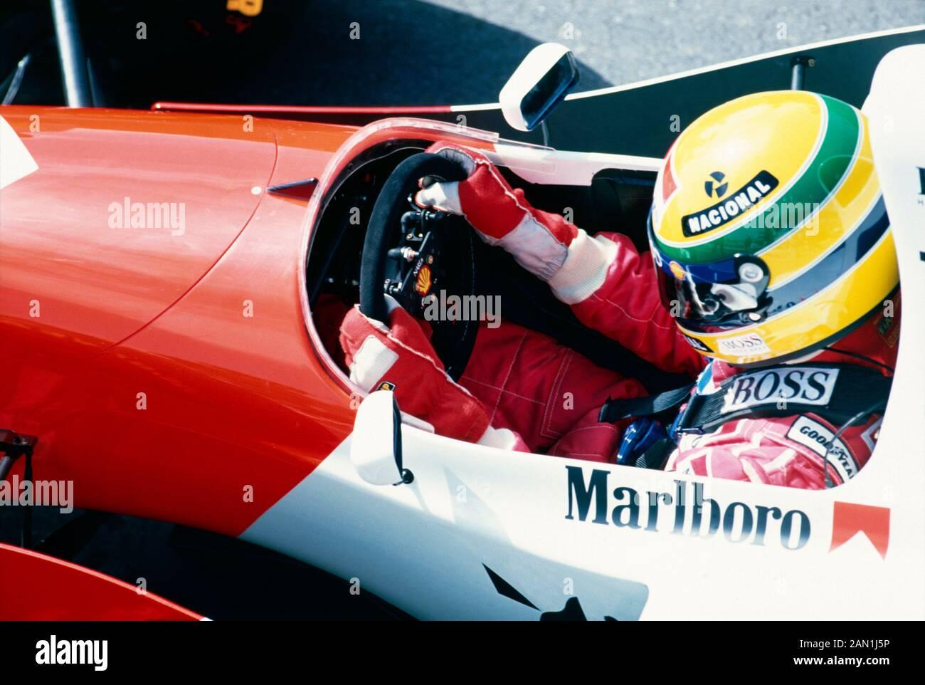 Ayrton Senna Notizbuch Monaco 87