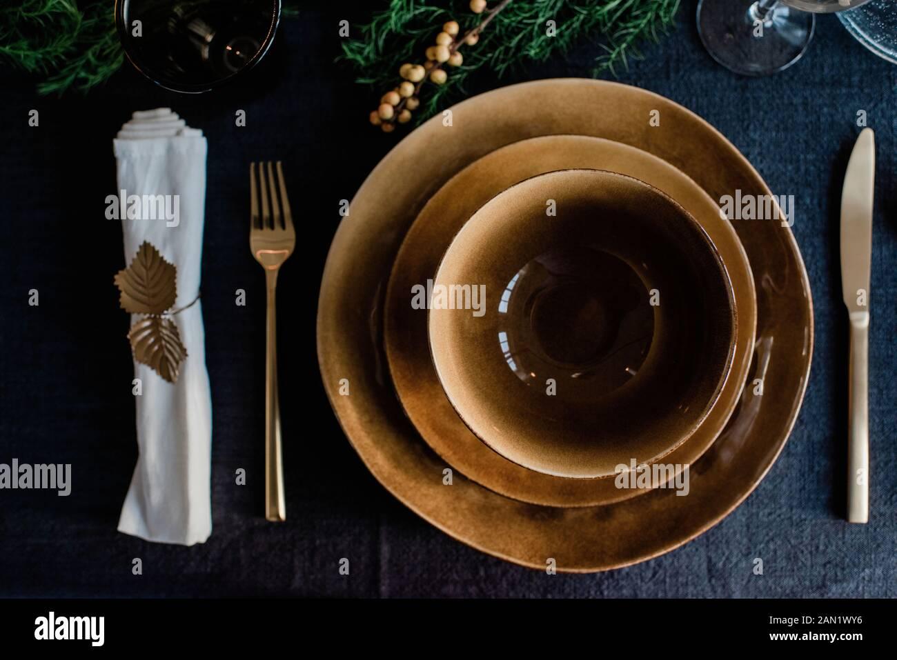 Goldbesteck Stockfotos Und Bilder Kaufen Alamy