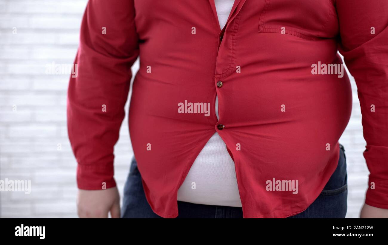 Big Belly Enge Kleidung