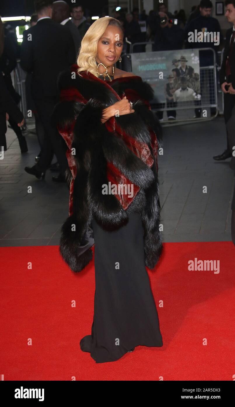 "Okt 05, 2017 - London, England, Großbritannien - 61. BFI London Film Festival - ""Mudbound"" European Premiere, Odeon Leicester Square - Red Carpet Arrivals Photo Stockfoto"
