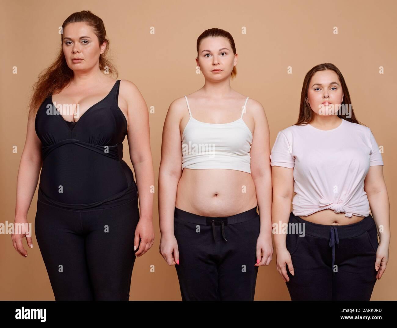 Frauen bilder von fetten Portrait Frauen
