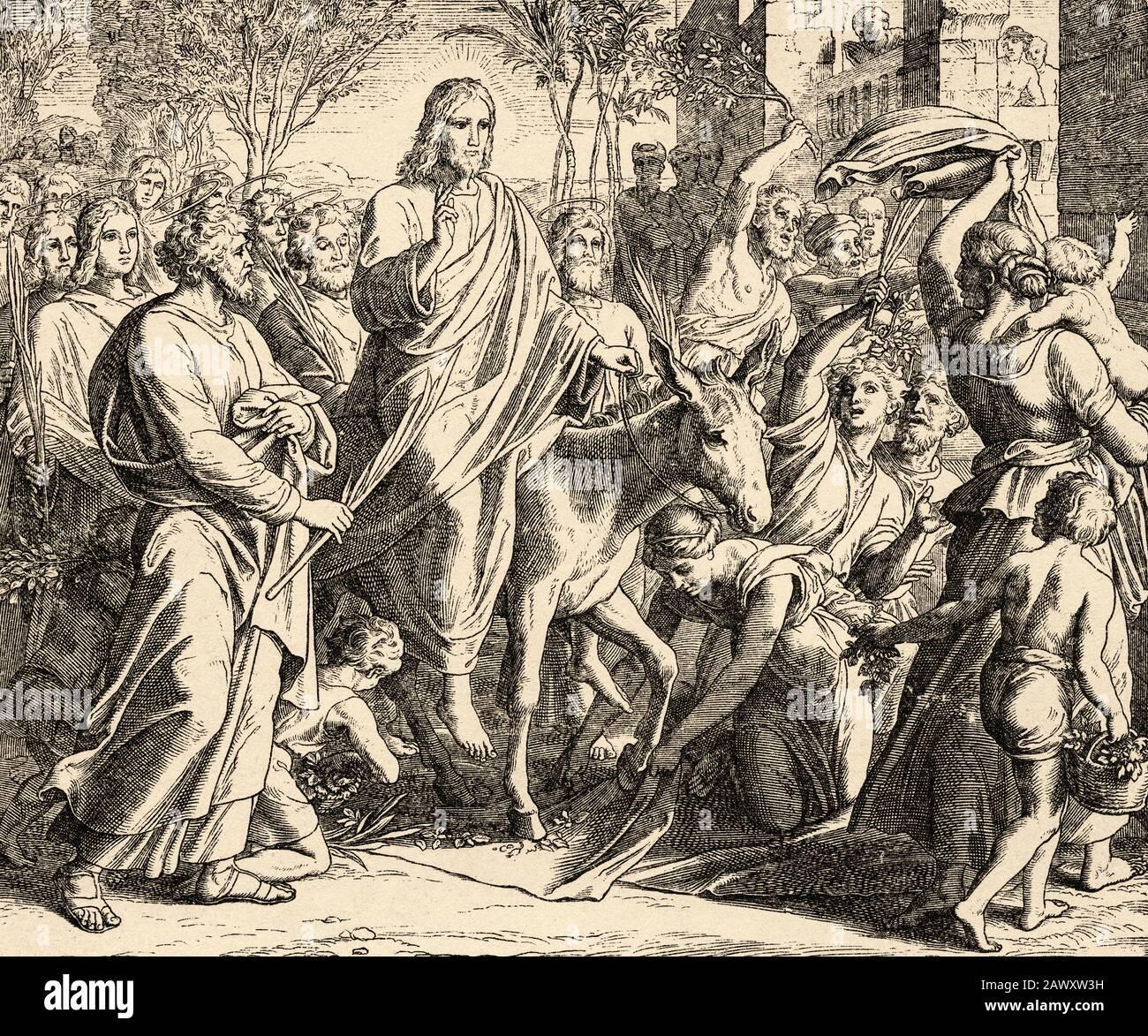 Einzug jerusalem exegese in jesu Exegese: Jesu