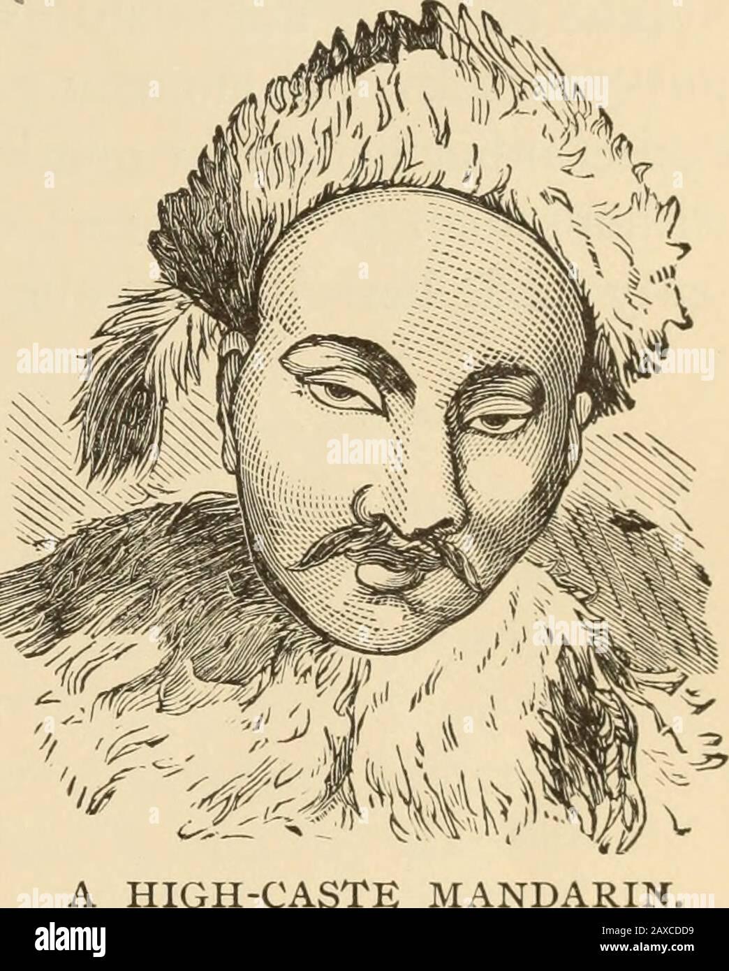 Massaker an den Christen durch heidnische Chinesen und Schrecken der Boxer; enthält eine vollständige Geschichte der Boxer; den Tai-Ping-Aufstand und die Massaker an den Außenministern; Sitten, Bräuche und Besonderheiten der Chinesen .. . einige Preisverordnete, dass Kopien der Yu-Li verbrannt werden sollten. Lügner haben einen sehr unangenehmen Teil in dieser Welt sowie anderen. Es gibt ein gewisses Templiwhere, in dem sich ein Idol der Funktion auffälliger Lügner Toter widmet. Ein junger Priester, als er askedif war, hatte jemals gesehen, wie Lügner tot geschlagen wurden, antwortete: Ja, zwei. Hisquestioner antwortete: Mein junger Freund, nehmen Sie c Stockfoto