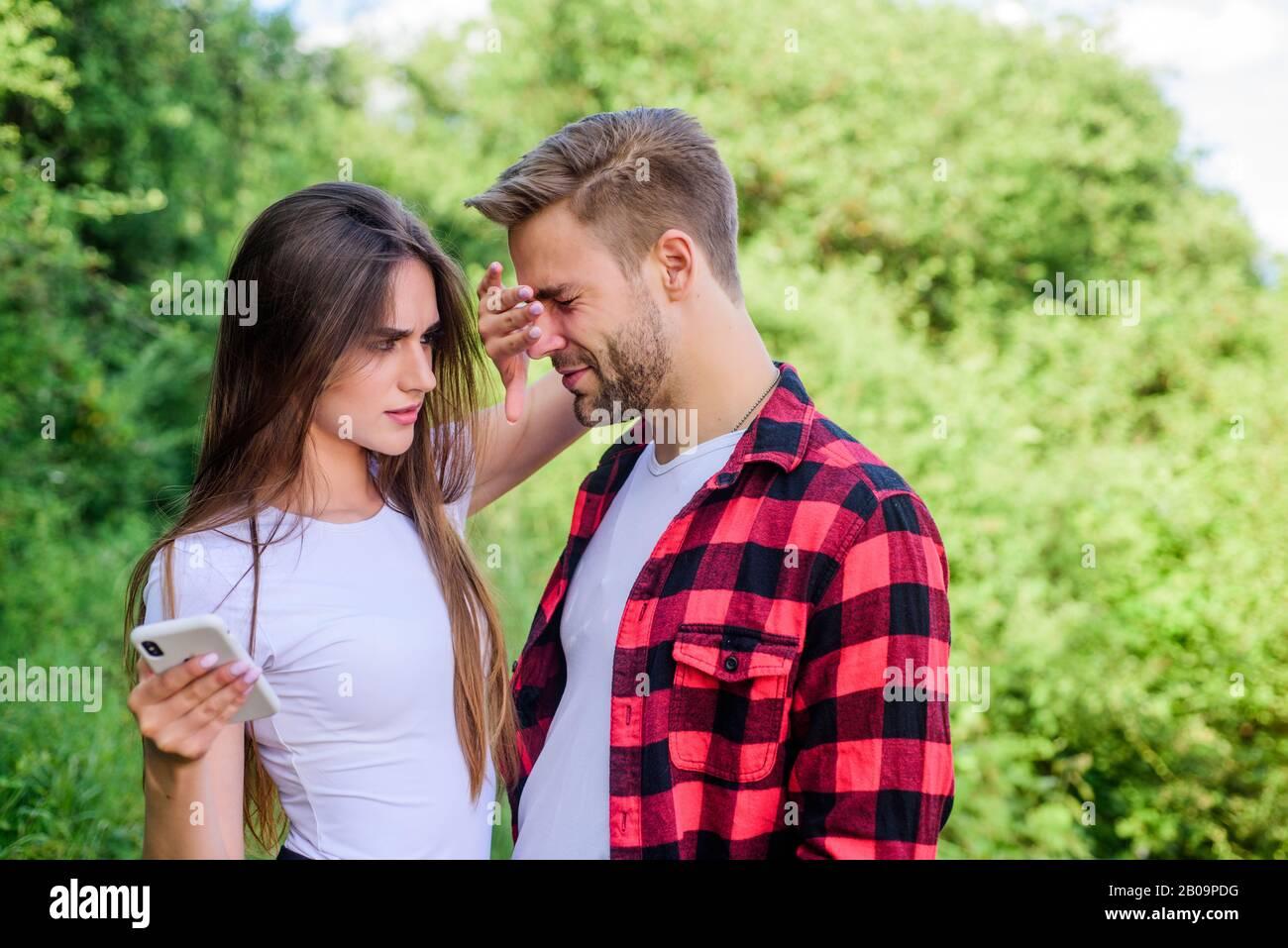 Paar lässt zuschauen