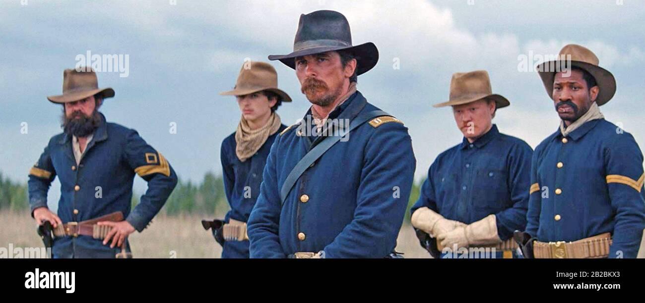 Feinde 2017 Entertainment Studios Film mit Christian Bale Stockfoto