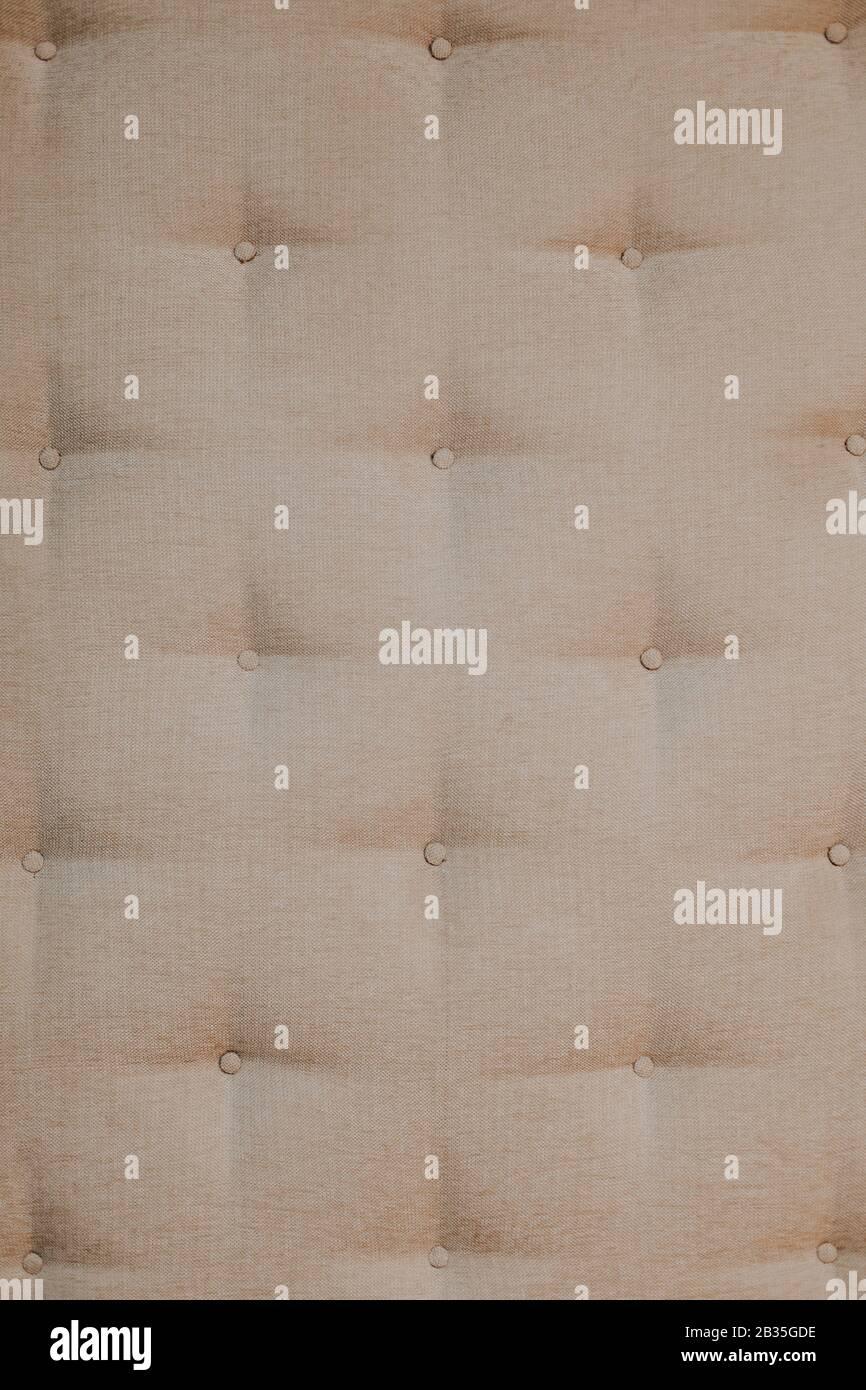 Weiche Wand in einer psychiatrischen Klinik als Hintergrund Stockfoto