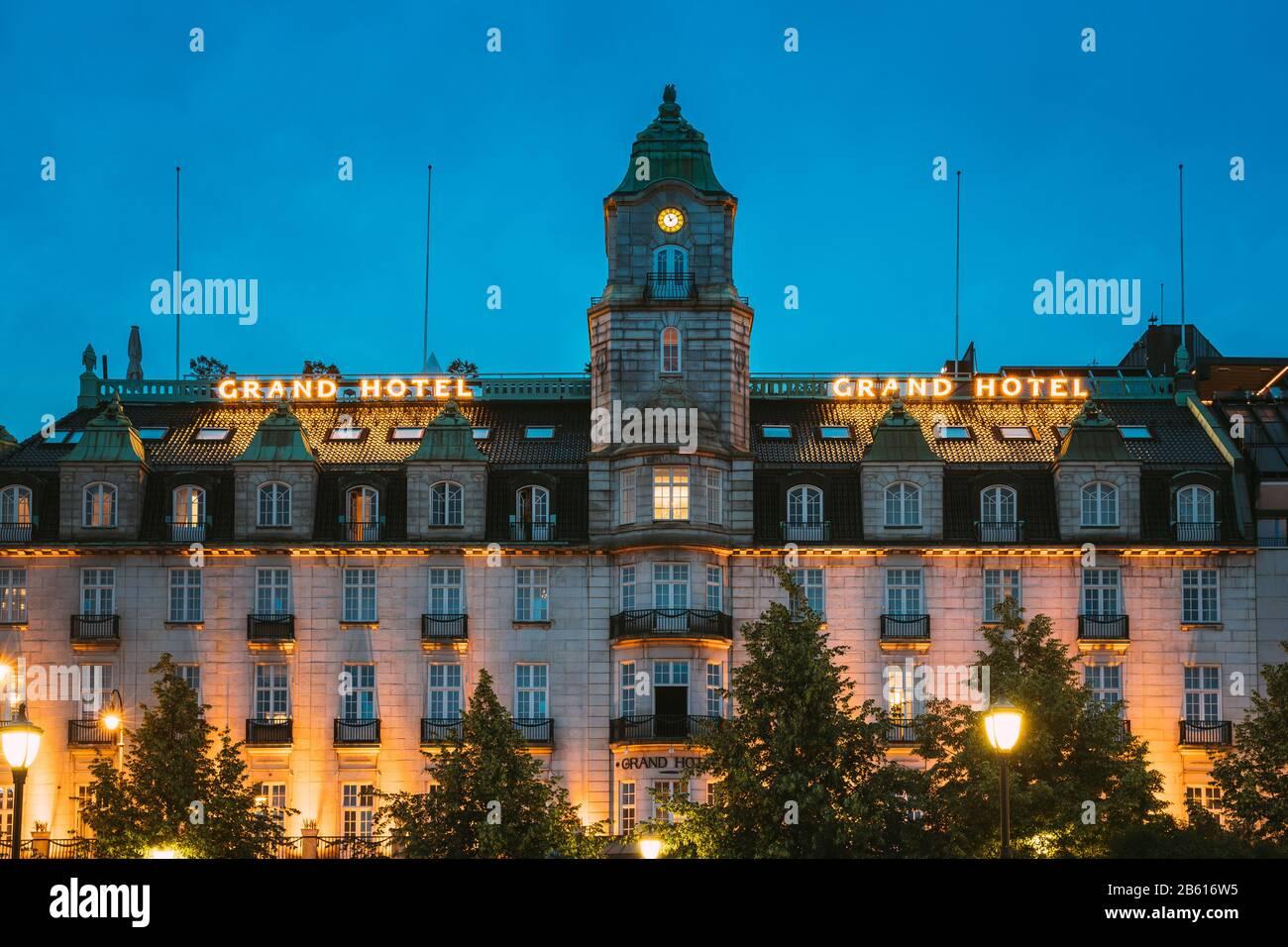 Norway Grand Hotel Oslo Stockfotos Und Bilder Kaufen Alamy