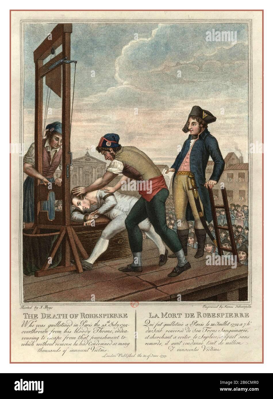Robespierre Tod