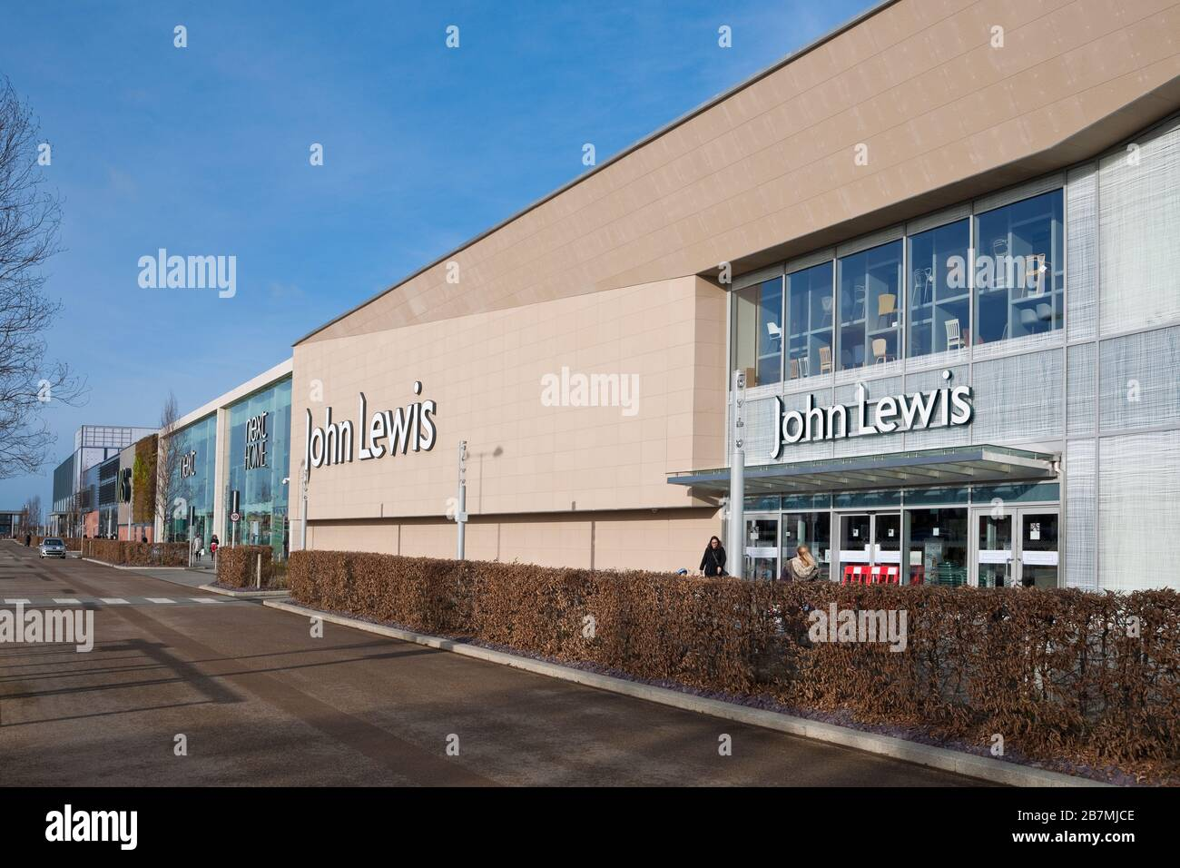 John Lewis Shop Out of Town Stores Vangarde Retail Park Shopping ...