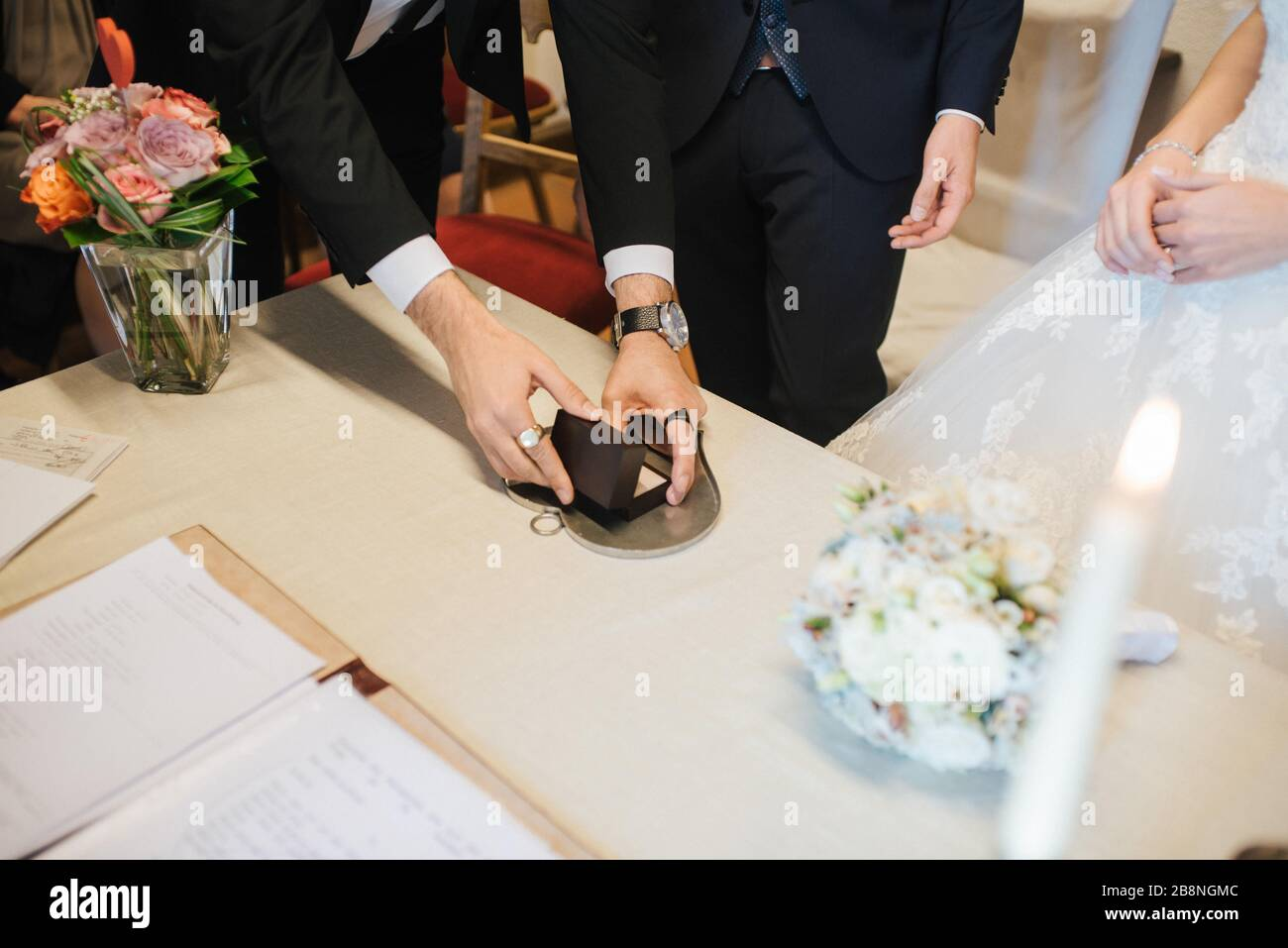 Zeuge Einer Ehe Stockfotos und -bilder Kaufen - Alamy