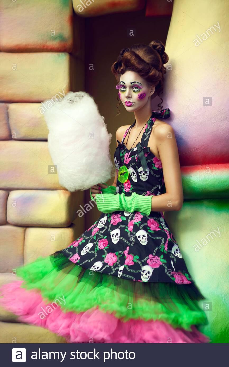 Clown Mädchen Stockfotos und -bilder Kaufen - Alamy