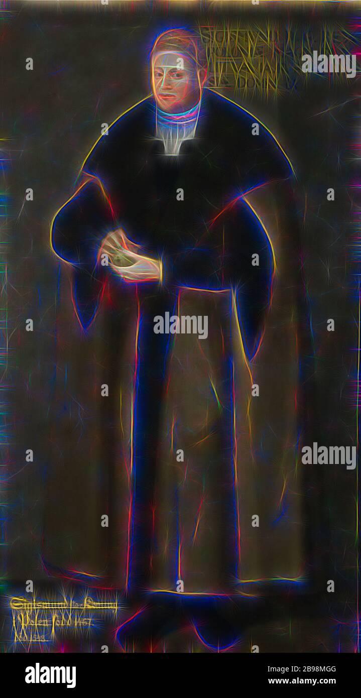 Zugeschrieben David Frumerie, König Sigismund, Sigismund I., 1467-1548, König von Polen, Malerei, Porträt, Sigismund I. der Alte, 1667, Öl auf Leinwand, Höhe, 194 cm (76.3 Zoll), Breite, 98 cm (38.5 Zoll, neu gestaltet von Gibon, Design von warmen fröhlich glühen von Helligkeit und Lichtstrahlen Ausstrahlung. Klassische Kunst neu erfunden mit einem modernen Twist. Fotografie inspiriert von Futurismus, umarmt dynamische Energie der modernen Technologie, Bewegung, Geschwindigkeit und Kultur revolutionieren. Stockfoto