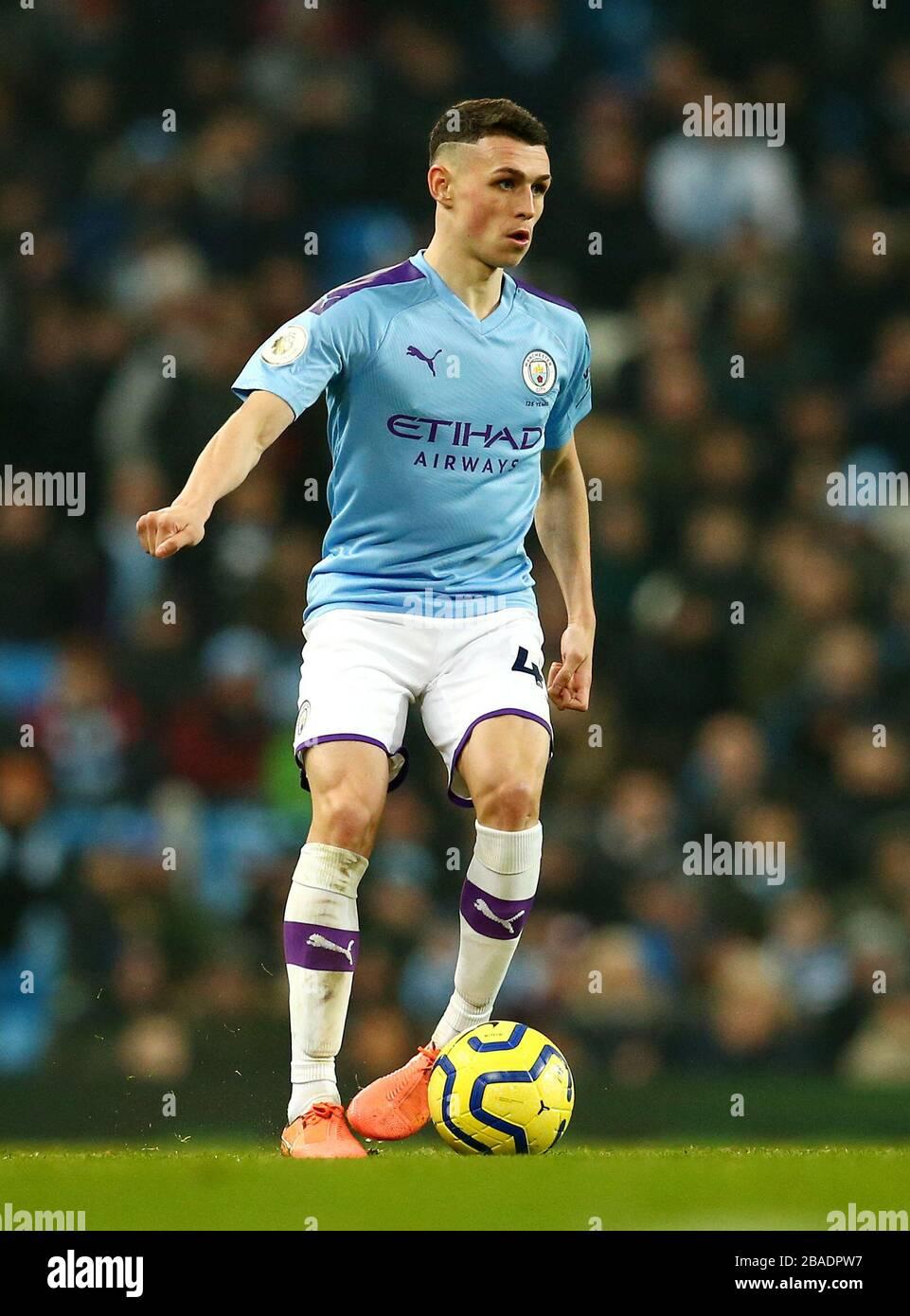 Von Manchester City Phil Foden Stockfoto