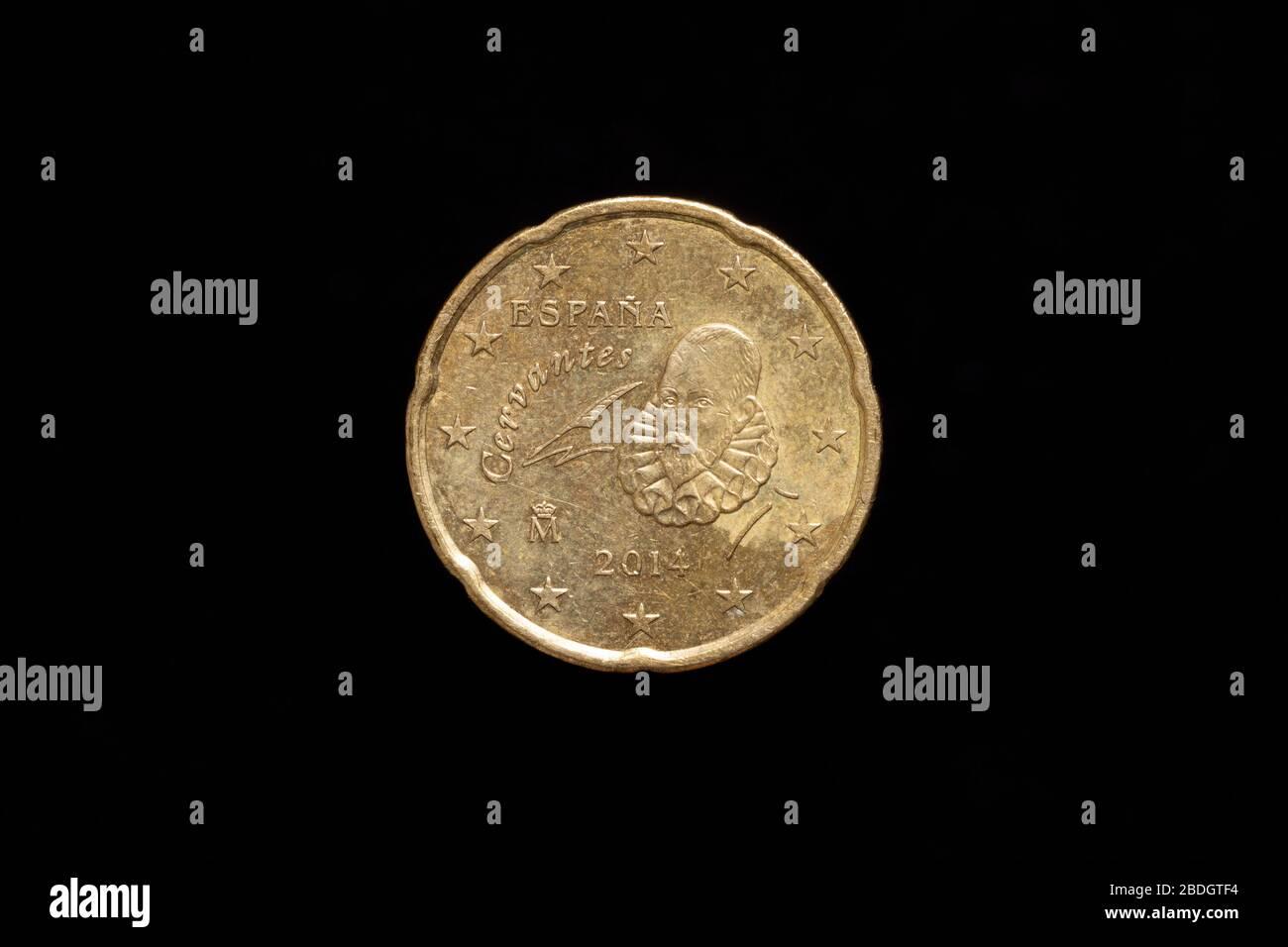 20 Euro Cent Coin Stockfotos und  bilder Kaufen   Alamy