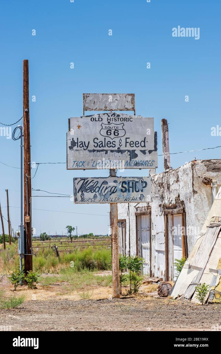 Route 66-USA Stockfoto