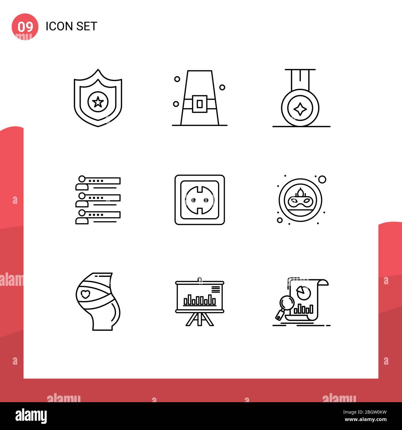 Elektrische Sicherheitssymbole Stock Vektorgrafiken kaufen   Alamy