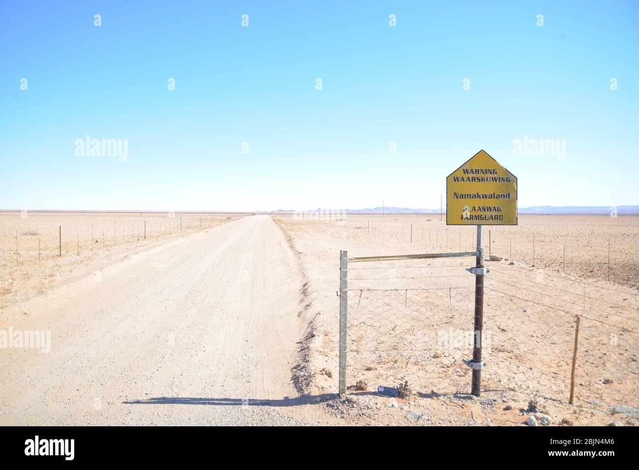 Südafrikanische Outdoor-Fotos von Friedrich von Horsten. Nördliche Kap Kalahari Wüste. Stockfoto