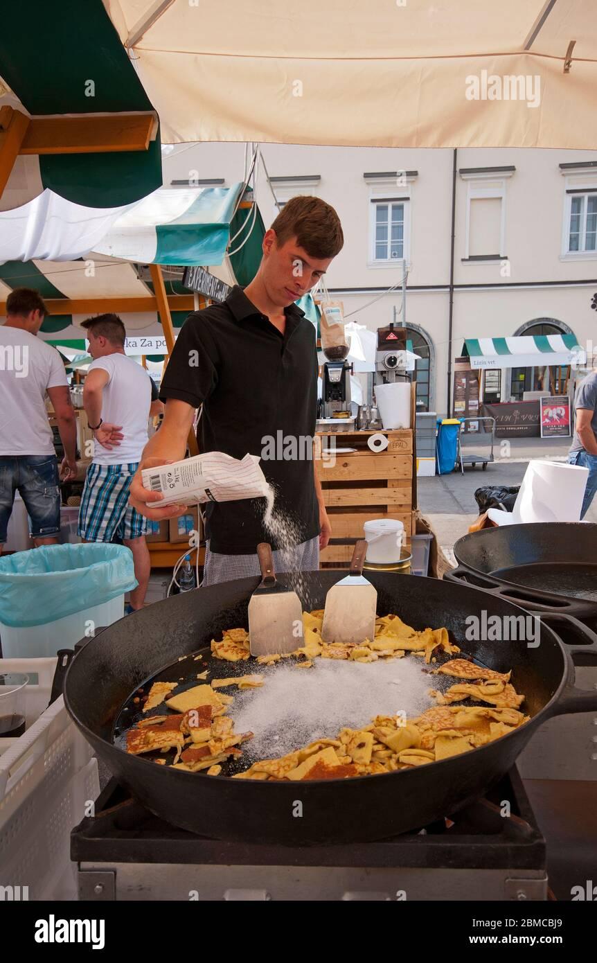 Slowenisches Essen Stockfotos und -bilder Kaufen - Alamy