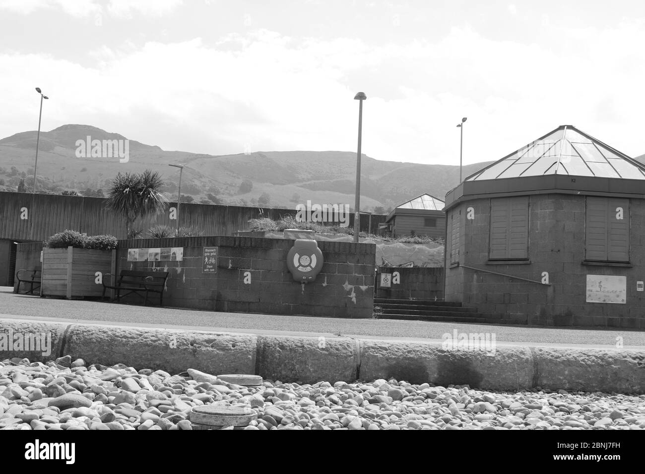 Penmaenmawr, Promenade North Wales Credit : Mike Clarke / Alamy Stock Photos Stockfoto